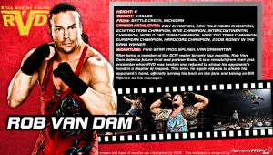 WWE Rob Van Dam ID Wallpaper Widescreen by Timetravel6000v2