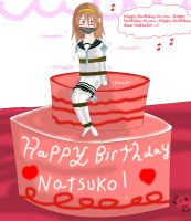 Happy Birthday Miss Natsuko by Lady-of-Mud