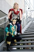 Marvel: King and Queen of Tomorrow by Jim-Moriarty