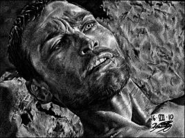 Andy Whitfield -SPARTACUS 2- by ladarkfemme