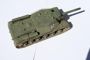 SU-152 2 by SPIDIvonMARDER