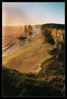 Sunset at The 12 Apostles 4 by wildplaces