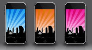iPhone wall : Immeubles by Nasrian