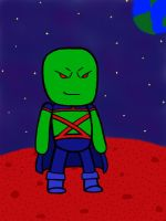 Scribblenauts Martian Manhunter by MasterRBG