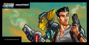 Ratchet Uncharted Banner by ffnb