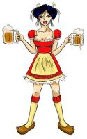 Butterbeer Wench Siri by elindor