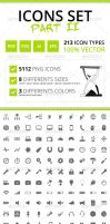 213 Rough Icons (Icons Set Part II) by felipelessa