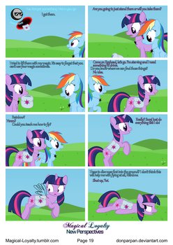 Magical Loyalty - New Perspectives Page 19 by WaveyWaves