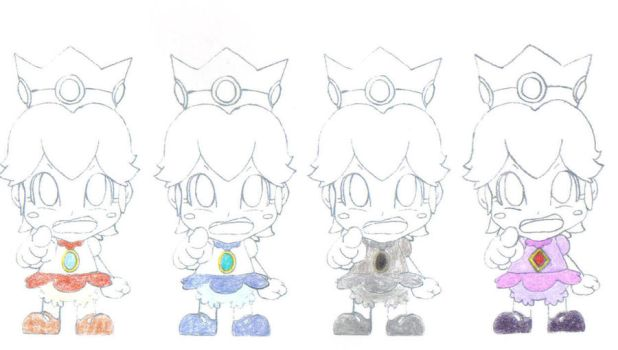 Baby Peach's Wardrobe 2 by RUinc