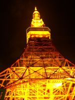Memories of Japan-TokyoTower1 by Gaara-Kamikaze