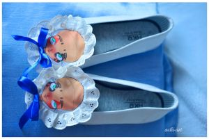 doll shoes by LadyAshi