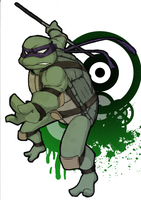 Donatello by DJ-Professah-K