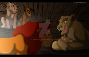 TLK - ZiraxSimba [Kiara's birth] by RakPolaris