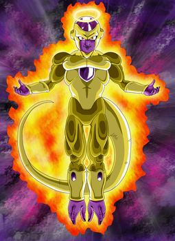 Golden Frieza by redchaos187