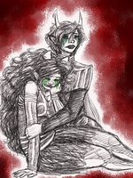 Homestuck: Love is watching someone die by NancyStageRat
