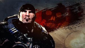 Gears of War Contest Entry 1 by TimothyAndersonArt