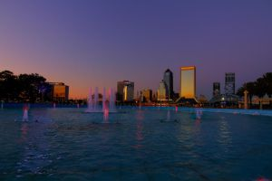 Fountain Sunset by 904PhotoPhactory