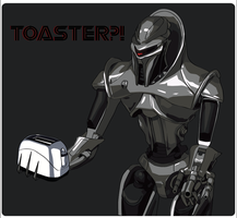 Who are you calling a Toaster? by Rebbawskaced
