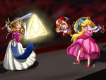 Zelda vs Princess Peach by SigurdHosenfeld
