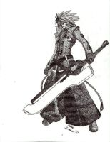Ragna The Bloodedge Stipple by Triturate