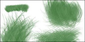 Grass Brushes 4 by Baringa-of-the-Wind