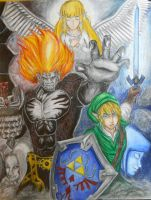 TLoZ Link Vs. Demise by 1Finale95