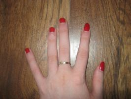 Red nails by Birdsong231