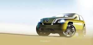 Mercedes-Benz G-class - update by husseindesign