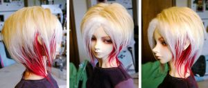 Tri-layered wig by Arenheim