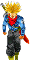 Future Trunks SS Furious by alexiscabo1