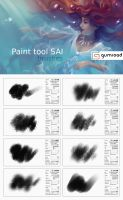 Paint Tool Sai brushes by sharandula