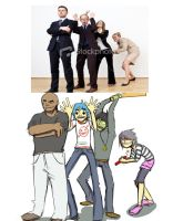 We Love Gorillaz by irsaona