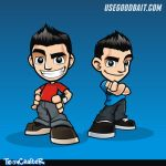 Eric - UseGoodBait Mascot [ project in progress ] by hackerkuper