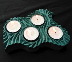 CANDLE HOLDER by MassoGeppetto