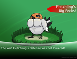Fletchling's Big Pecks by godzilla3092