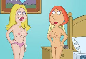 Francine and Lois by WVS1777