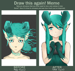 Draw This Again - Jade Dragon Girl OC by Chrissy743