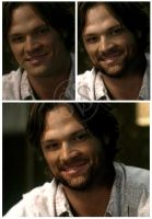 Aged Sam Winchester by jessicarae24