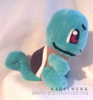Squirtle Plush by maren-B