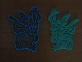 Sylveon Cookie Cutter 01 by B2Squared