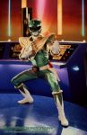 Green Ranger in Command Center by Brucer007