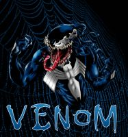 Venom Bust- alxelder colours by ParisAlleyne