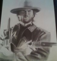 Clint Eastwood by Johnbalestrino