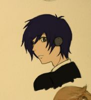 persona 3 protagonist by Cei-08