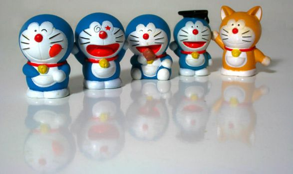 Doraemon by bleu3t