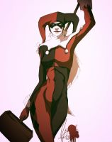 Harley Quinn Colored by Animixter