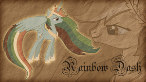 Princess Rainbow Dash by Jamey4