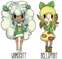 Free Pokemon Gjinka Adopts by PineapplesDogs