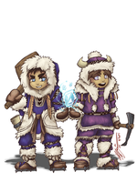 Ice Climbers: Mountaineers by CoronaDiTempesta