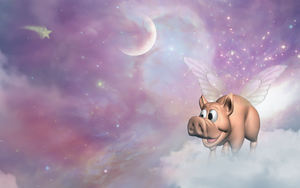 Pigs On The Wing by GypsyH